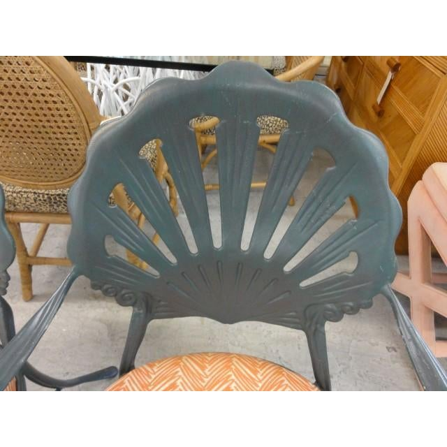 Vintage Shell Back Chairs - Set of 6 - Image 9 of 11