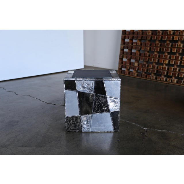 "Paul Evans ""Argente"" Cube Side Tables For Sale - Image 9 of 13"