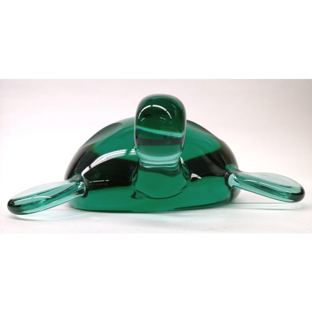 Modern Jade Green Crystal Turtle - Image 8 of 8