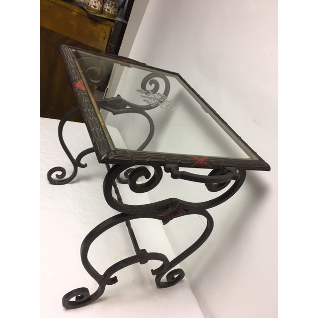 Art Deco Iron Side Table - Image 8 of 11