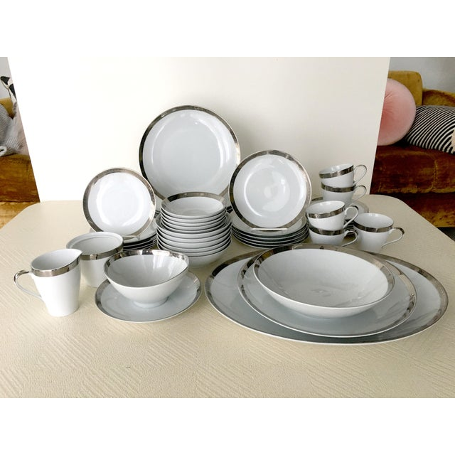 Vintage Mikasa Silver Plated Dinnerware Set With Serving Pieces, Place Settings for 6 - 53 Pieces For Sale - Image 13 of 13