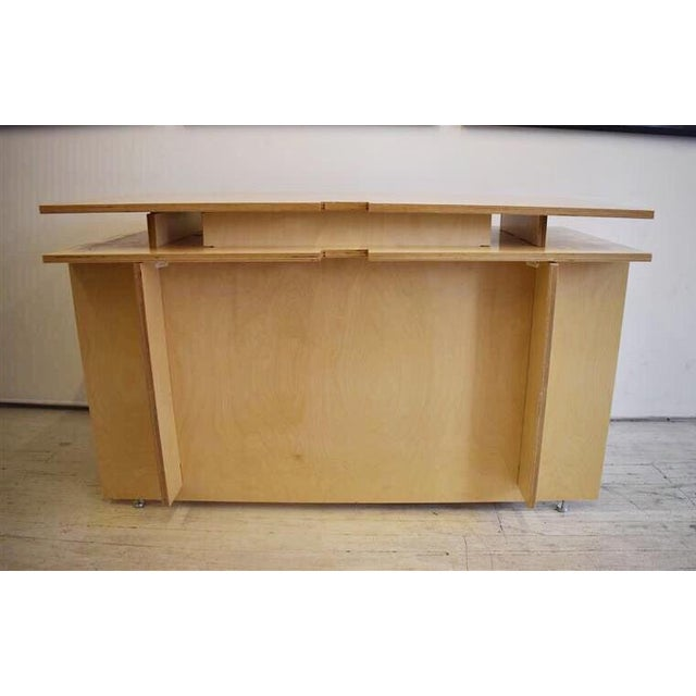 Donald Judd Modern Donald Judd's Architecture Desk For Sale - Image 4 of 5