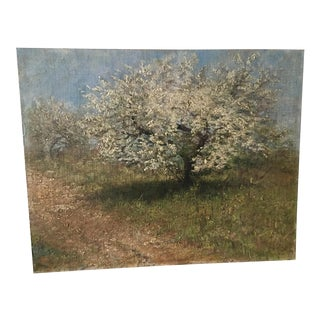 Victorian Oil Painting on Canvas