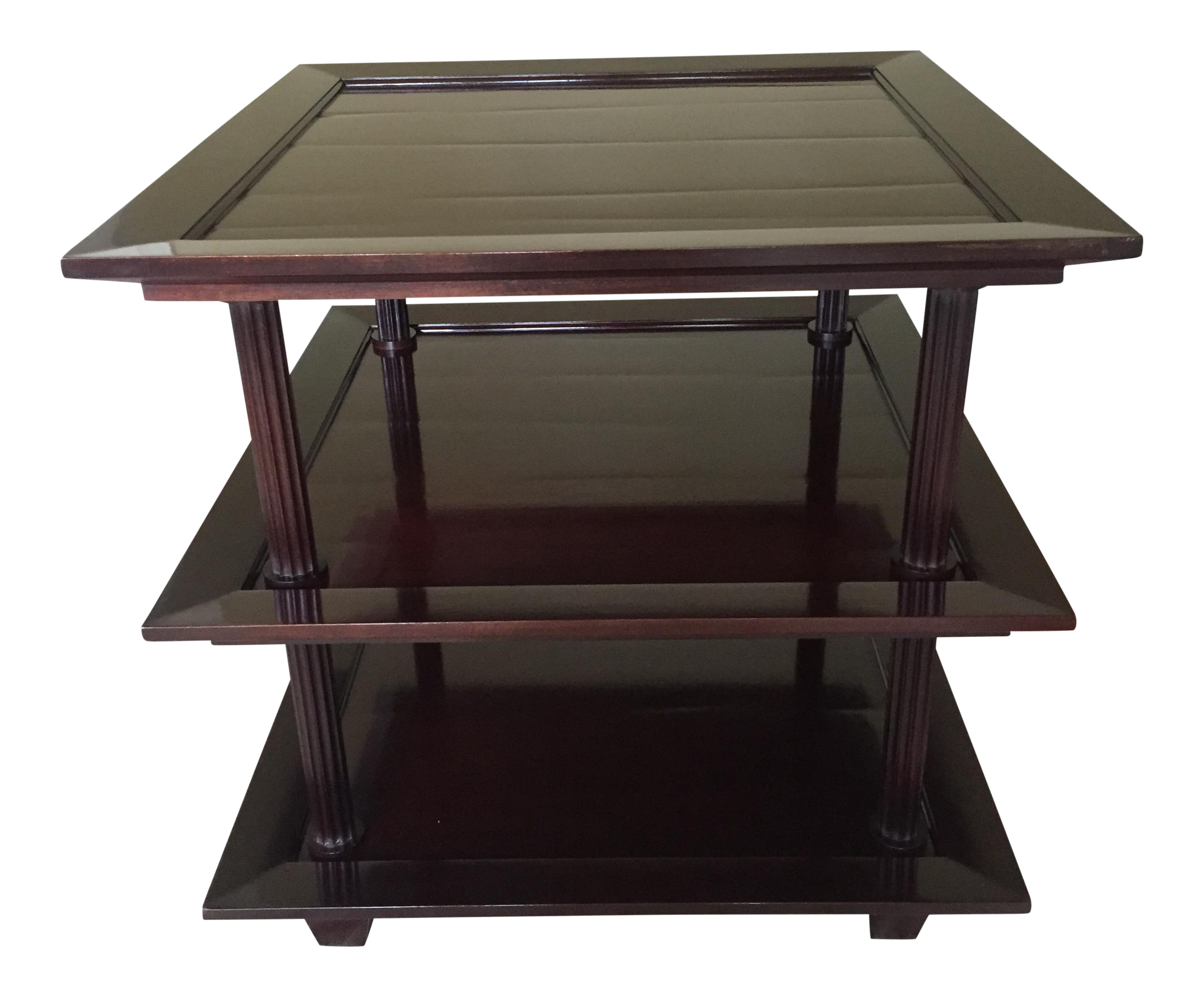 Perfect Barbara Barry For Baker Three Tiered Side Table