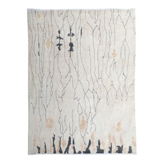 """Aara Rugs Inc. Hand Knotted Moroccan Rug - 8'6"""" X 12'0"""" For Sale"""