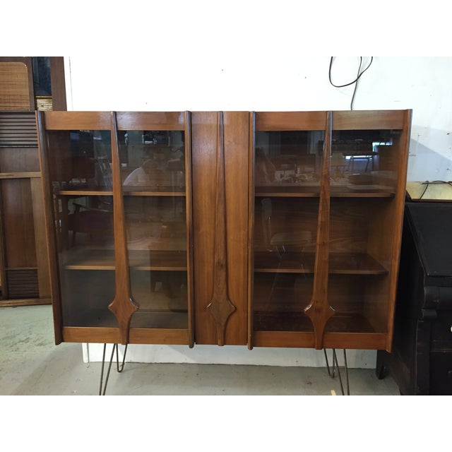 Mid Century Modern Cabinet on Hairpin Legs - Image 2 of 10