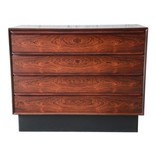 Westnofa Norwegian Rosewood Bachelor Chest For Sale