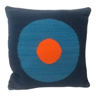 Contemporary Two-Sided Custom Jonathan Adler Needlepoint Pillow For Sale