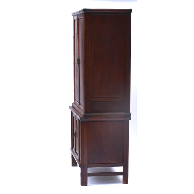 19th Century Chinese Camphor Wood Cabinet For Sale In Los Angeles - Image 6 of 12