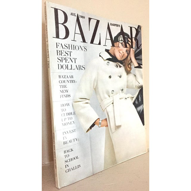 Paper Mid 20th Century Harper's Bazaar Magazine, Front Cover by Guy Bourdin For Sale - Image 7 of 7
