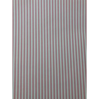 Cowtan and Tout Pink and White Stripe Wallpaper - 1 Roll For Sale