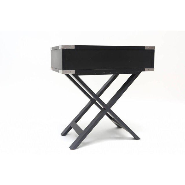 Director Style Side Tables For Sale - Image 6 of 7