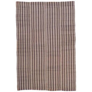 "Striped ""Jajim"" in Brown and Ivory For Sale"