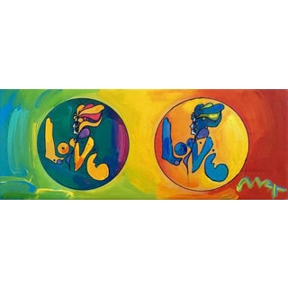 Peter Max LOVE 2008 For Sale