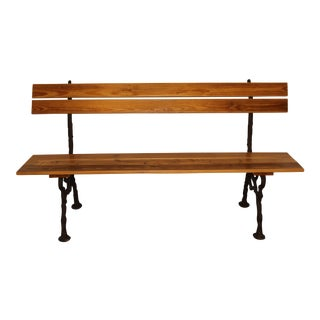 French Styled Park Bench