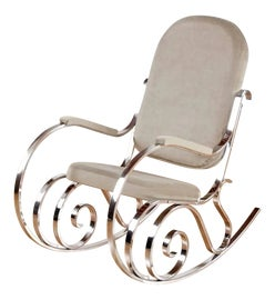 Image of Chrome Rocking Chairs