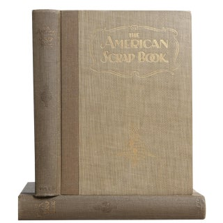 "1928 ""The American Scrap Book, 2 Vols"" Coffee Table Book For Sale"