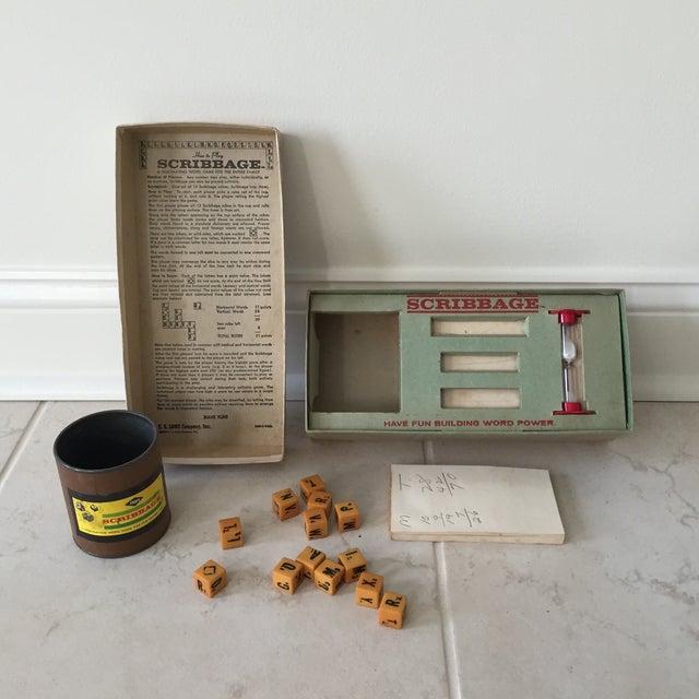 1963 Original Scribbage Word Game For Sale In Philadelphia - Image 6 of 9