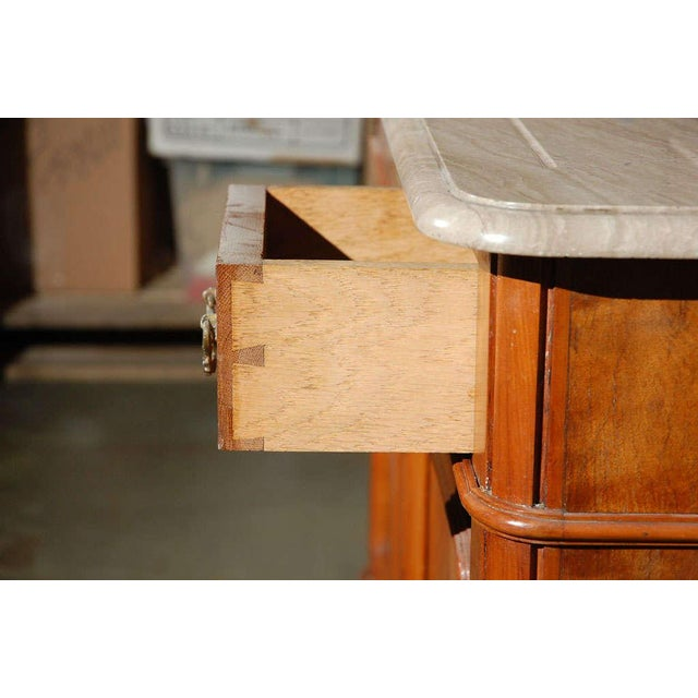 Marble Top Commode with Mirrors For Sale - Image 4 of 10