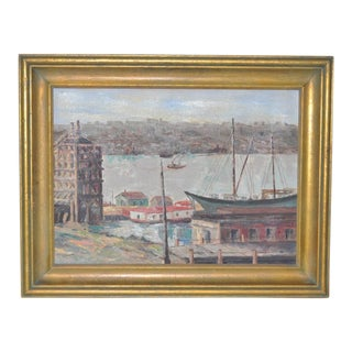 Winifred Lucy Shaffer Original Oil Painting C.1950s