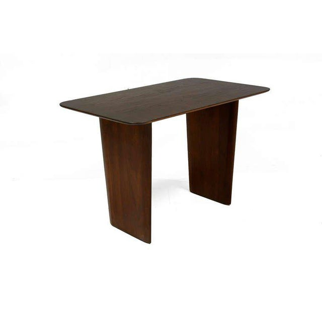 Walnut Mid Century Modern Rare Robsjohn-Gibbings Side Table For Sale - Image 7 of 7
