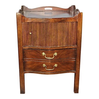 Henredon Natchez Mahogany Commode Side Table