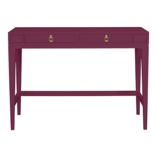 Casa Cosima Living Issa Counter Height Desk - Grape Juice For Sale