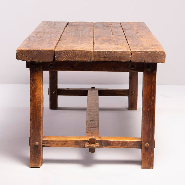 Early 19th Century Early 19th Century Rustic Table For Sale - Image 5 of 13