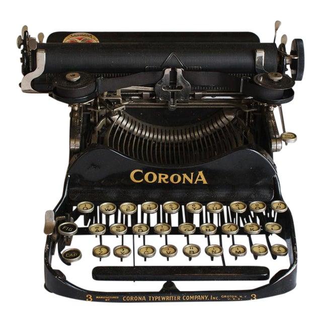 1912 Corona Portable Folding Typewriter For Sale