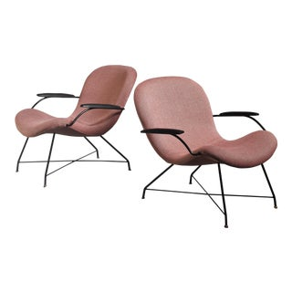 Martin Eisler Pair of Lounge Chairs, Brazil, 1960s For Sale