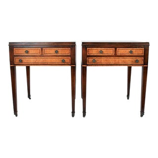Federal-Style Side Tables - a Pair