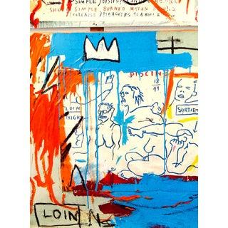 Jean-Michel Basquiat Piscine Versus the Best Hotels Poster For Sale