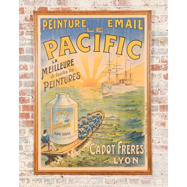 Traditional Le Pacific Enamel Paint French Poster - Image 2 of 10