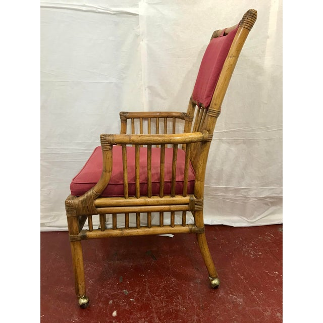 Bamboo Dining Chairs Set of 8 For Sale - Image 4 of 13