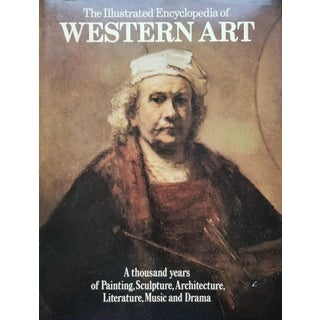 The Illustrated Encyclopedia of Western Art Coffee Table Book For Sale