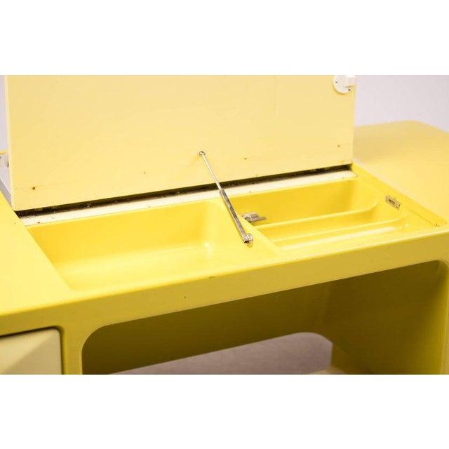 Yellow Ernest Igl Design Fiberglass Directors Desk by Wilhelm Werndl For Sale - Image 8 of 10