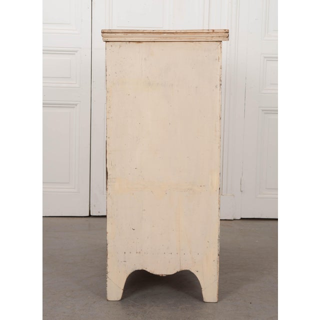 Metal 20th Century English Edwardian Painted Chest For Sale - Image 7 of 9