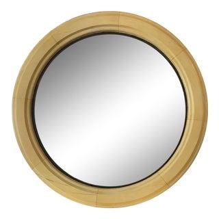 19th Century Parisian Antique Convex Bullseye Mirror For Sale
