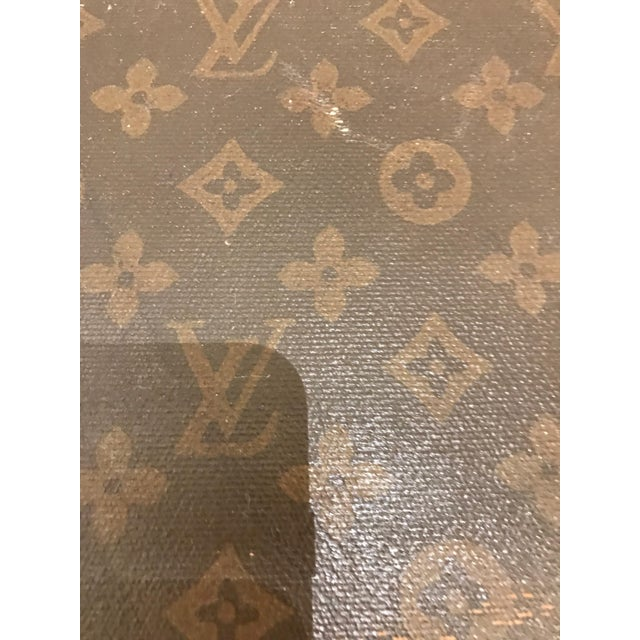 Louis Vuitton Suitcase Trunk With Key For Sale In New York - Image 6 of 13