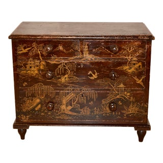 19th Century Chinoiserie Chest of Drawers For Sale