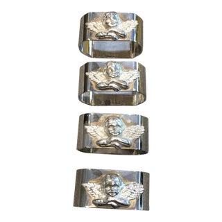 Michelangelo Angels Napkin Ring - Set of 4