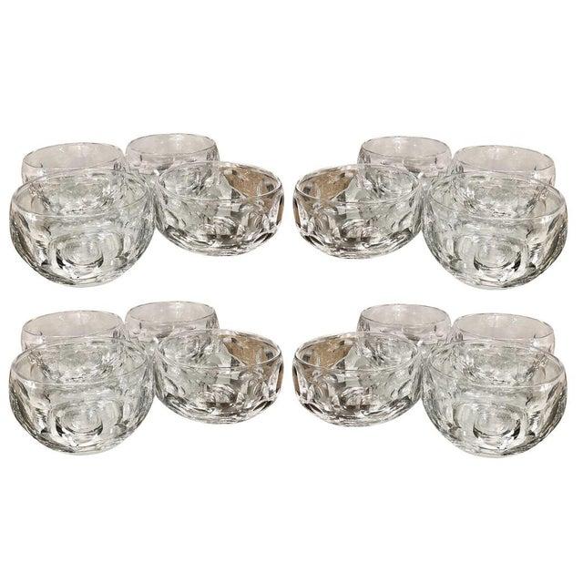Glass Signed Edinburgh Scottish Crystal Bowls - Set of 16 For Sale - Image 7 of 7