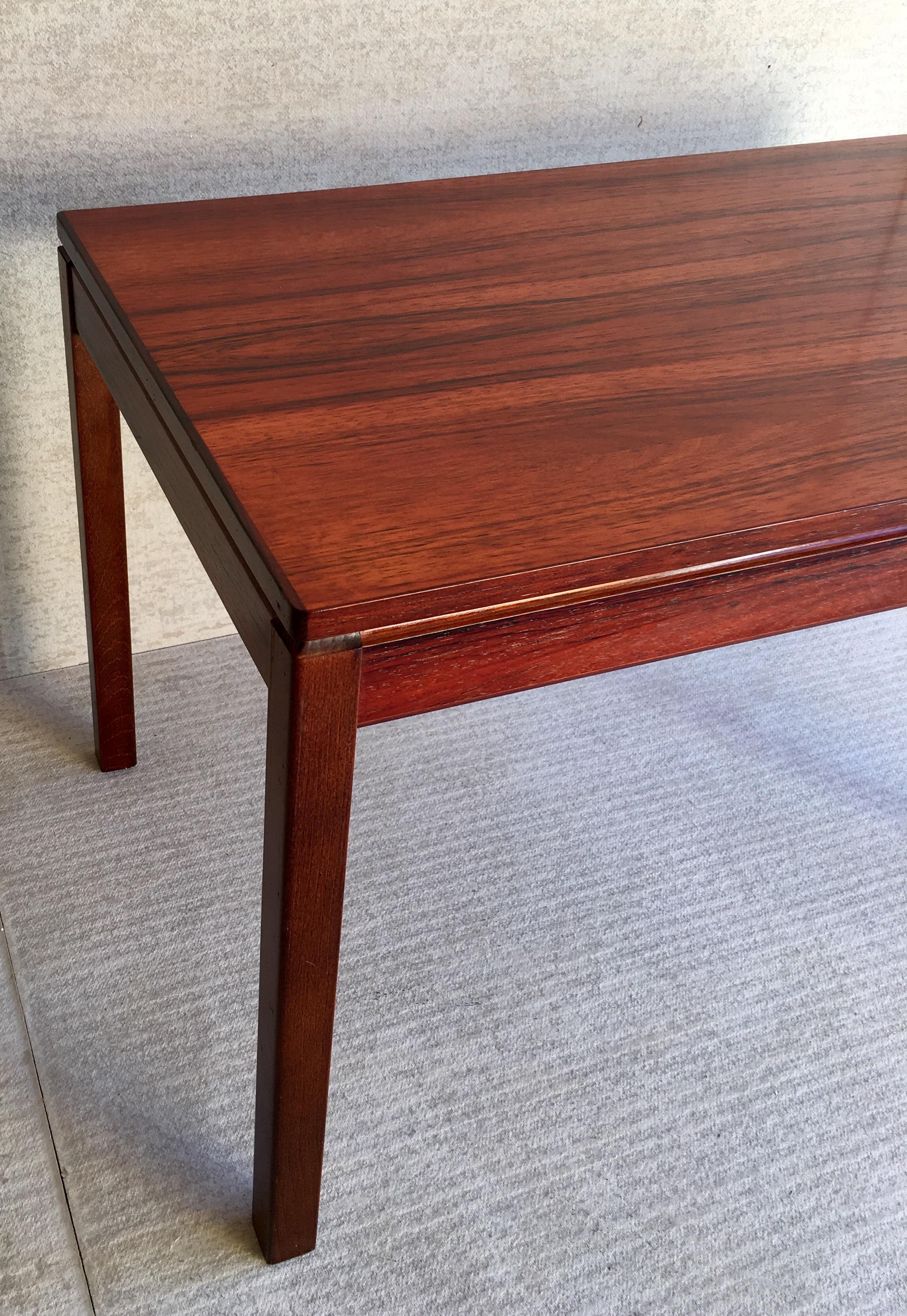 Heggen Scandinavian Rosewood Table For Sale   Image 11 Of 11
