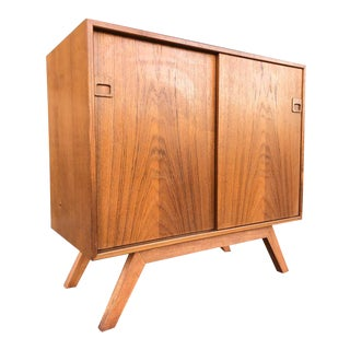 Stuning Mid Century Danish Cabinet/Credenza by Dyrlund For Sale