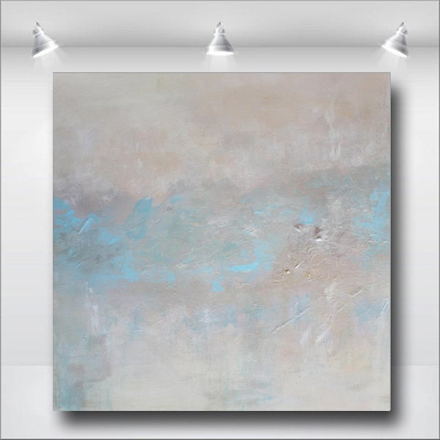 Abstract Textured Pearl Painting - Image 3 of 3