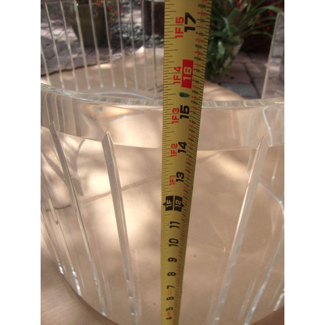 Mid-Century Lucite Coffee Table Bases - A Pair - Image 7 of 9