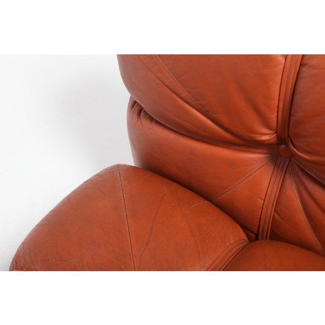 Leather Carla Venosta Ultra Rare 'San Martino' Sectional Sofa for Full For Sale - Image 7 of 13