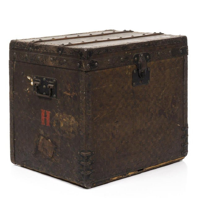 Louis Vuitton 1890 Damier Steamer Trunk - Image 7 of 7