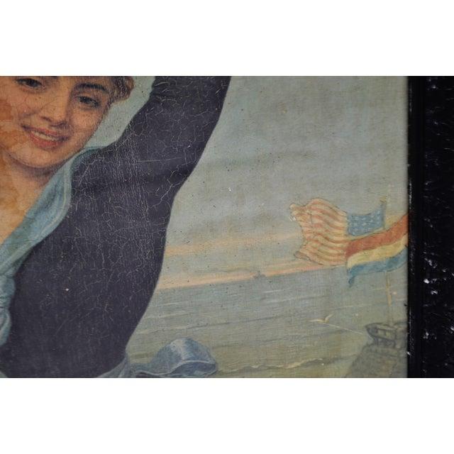 Wood Victorian Jan Van Beers Framed Print For Sale - Image 7 of 11
