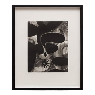 """1990 """"Untitled #2"""" Abstract Etching by David Lloyd, Framed For Sale"""